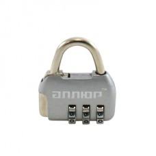 Замок навесн. АЛЛЮР ВС1К-35/4 (НА806) СР серебро кодов.d4мм