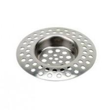 Сеточка-фильтр для раковины  d70мм нерж. S-08