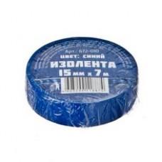 Лента изоляц.  синяя 15мм-7м 672-010