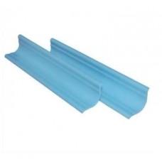 Бордюр /ванны пластик голубой