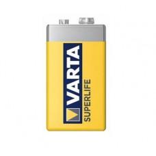 Батарейка   КРОНА  Varta SUPERLIFE 2022 (6F22)