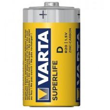 Батарейка R20 VARTA SUPERLIFE 2020  R20 1/24
