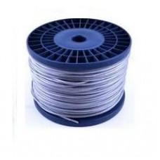 Трос (канат стальной)   в ПВХ оплетке  DIN 3055 6х7  2/3мм (1/200м)