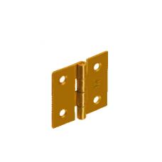 Петля  ZS30 30х29х1.0  желт.
