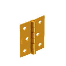 Петля  ZS40 40х40х1,0  желт. (10)