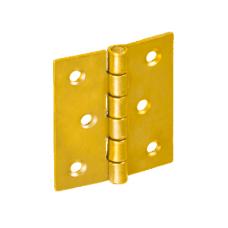 Петля  ZS50 50х42х1.0  желт. (10)