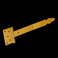 Петля стрела  ZBO 250х60х90х35мм декорат.  желт. (10)