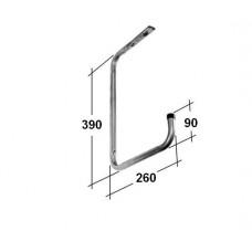 Кронштейн для полок потолочный HSP 300х260х90 оц.(6)