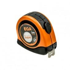 Рулетка метал.   3,0м х16мм SUPER  EGA 304
