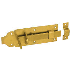 Задвижка дверн. WZP 180 180х65х6.0 с простым ригелем  желт. (10)